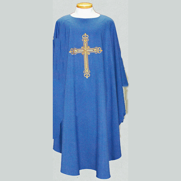 Beau Veste Cross Chasuble  with front and back design-2026A