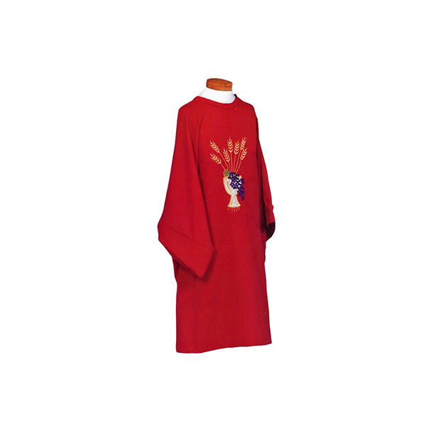 Beau Veste Dalmatic Chalice Grapes Wheat D25