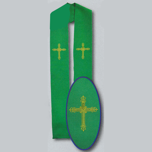 Beau Veste Green Cross Overlay 10-787