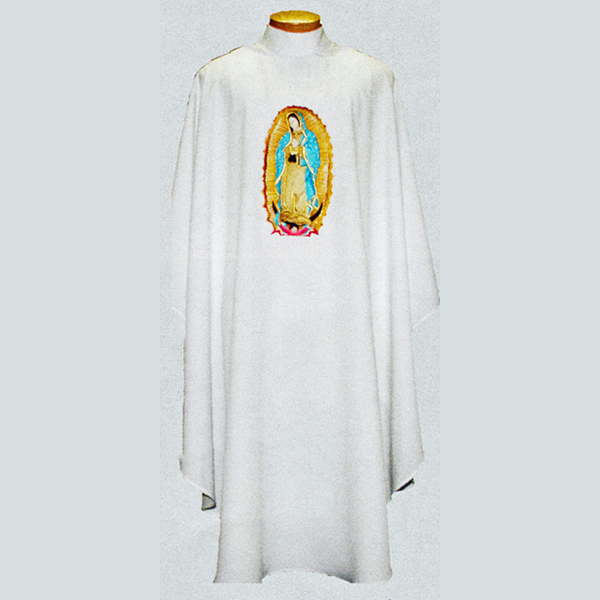 Beau Veste Guadalupe Chasuble with front and back design -890A