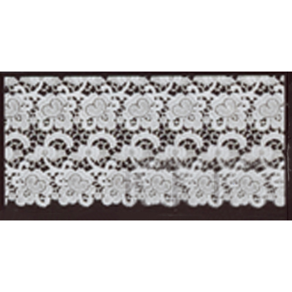"Beau Veste Lace Edging & Insertion 7-1/2"" wide 10-2015X"