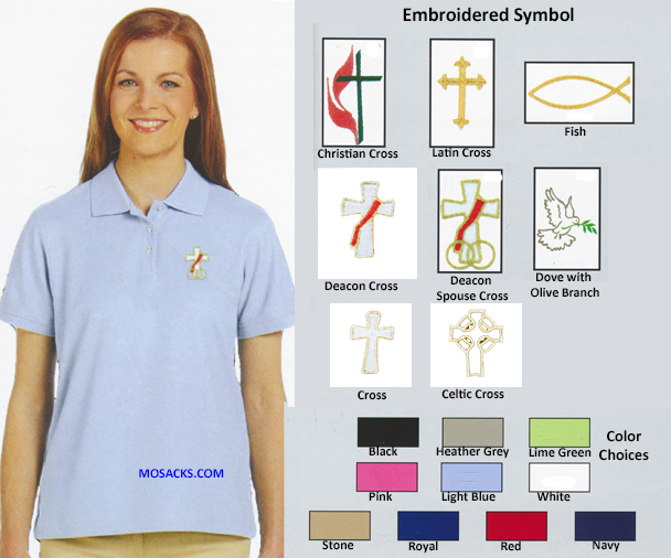 Beau Veste Ladies' Short Sleeve Peruvian Pima Cotton Polo Shirts-2112