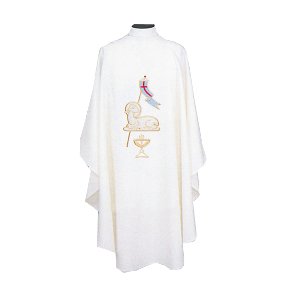 Beau Veste Lamb Of God Chasuble design on front and back-859A