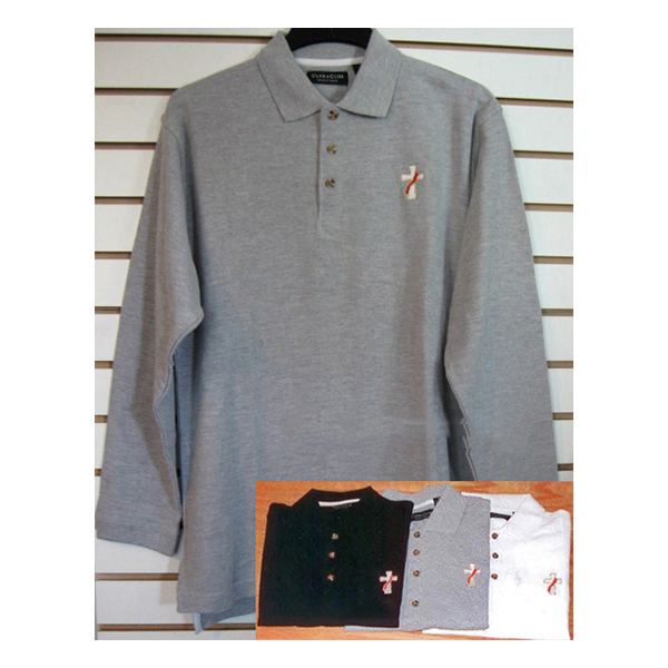 Beau Veste Men's Deacon Polo Shirt Long Sleeve - 2XL - 8500LS-Series
