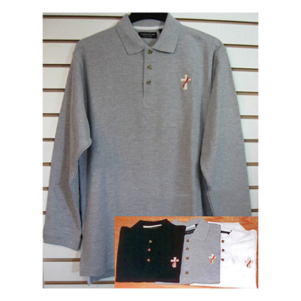 Beau Veste Men's Deacon Polo Shirt Long Sleeve - 3XL - 8500LS-Series