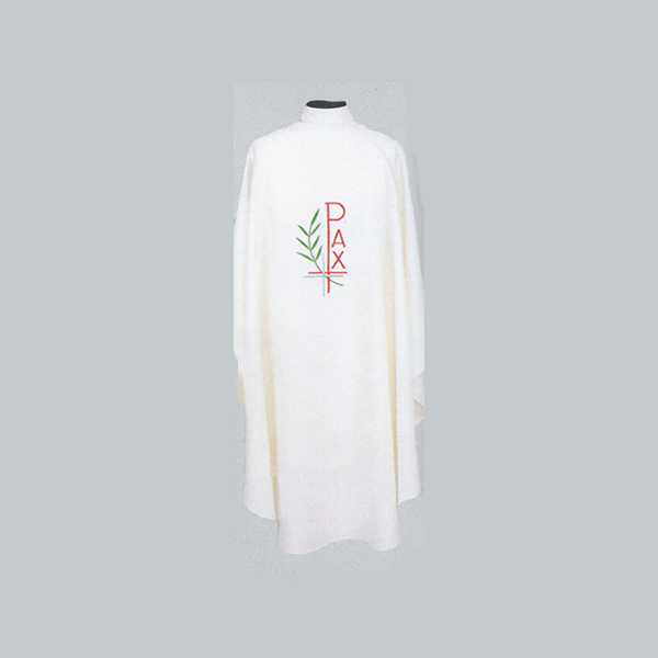 Beau Veste PAX, Cross and Branch Chasuble with design on front and back -868A
