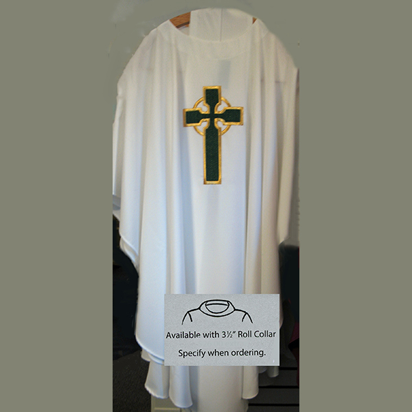 Beau Veste Chasuble Celtic Cross 872A