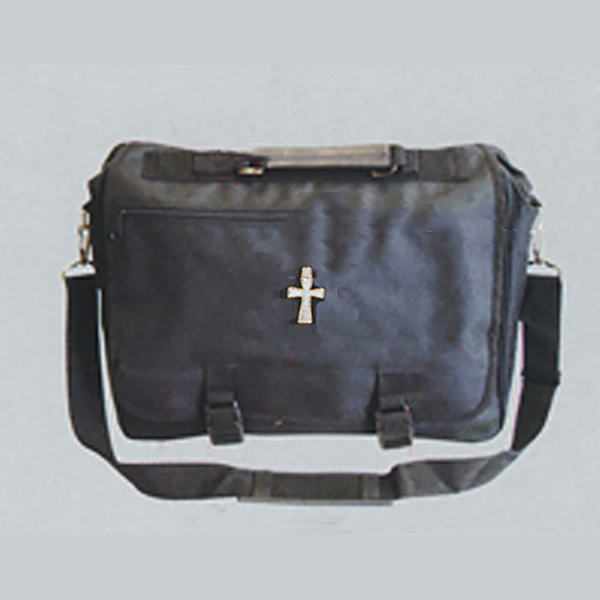 Beau Veste Simulated Leather Clergy Briefcase-8214L