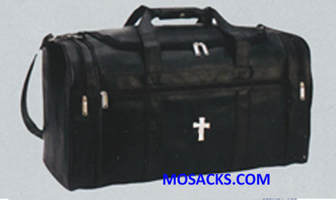 Beau Veste Simulated Leather Deluxe Clergy Travel Bag-8205 with Key