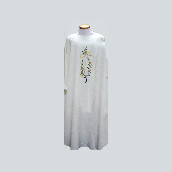 Beau Veste Tau Cross & Olive Branch Chasuble-2032