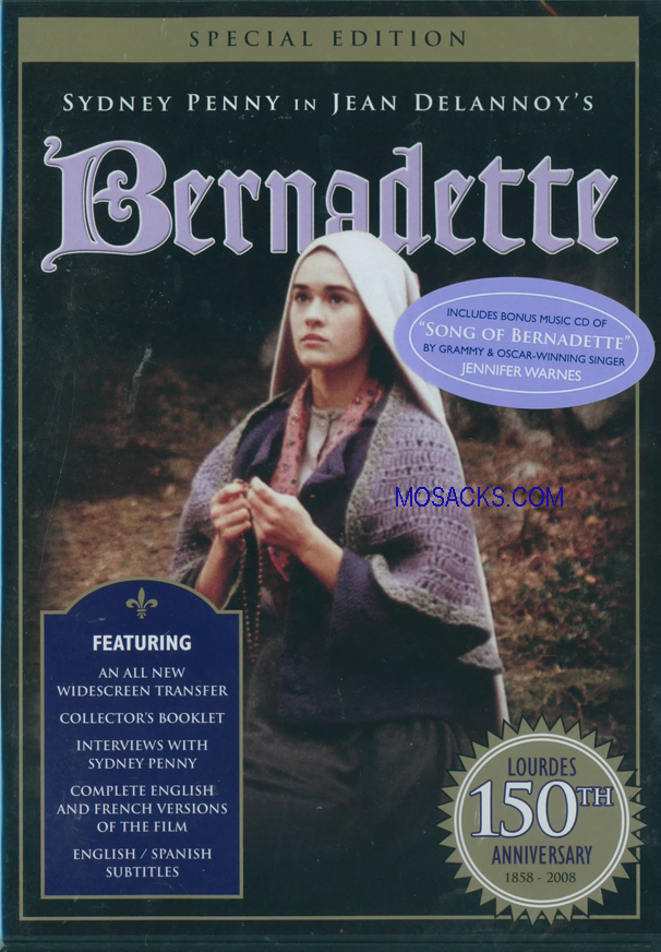 DVD-Bernadettefrom Ignatius Press 360-BER2-M