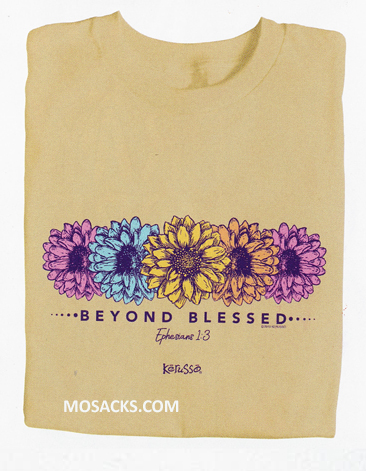 Beyond Blessed Daisies Ephesians 1:3 T-shirt-APT3314S-3X