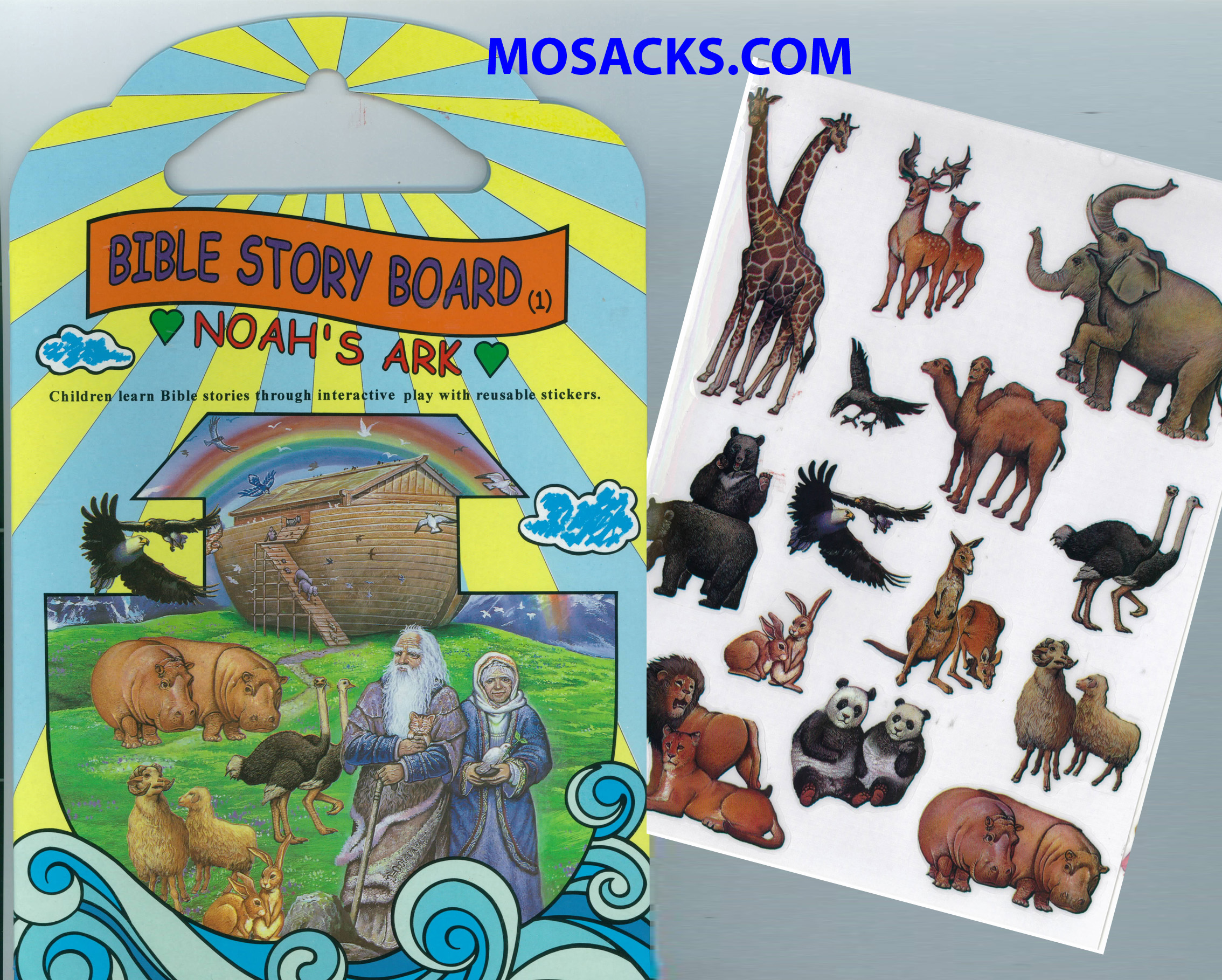 Bible Story Board Noah's Ark 64-NOAH