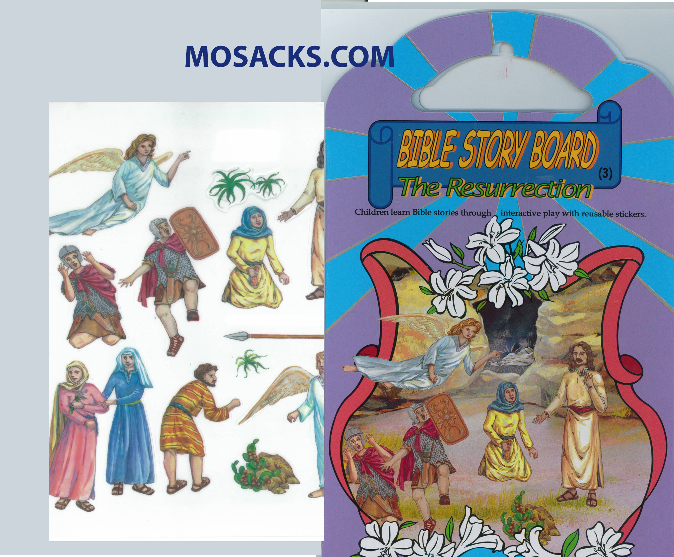 Bible Story Board The Resurrection 64-RES