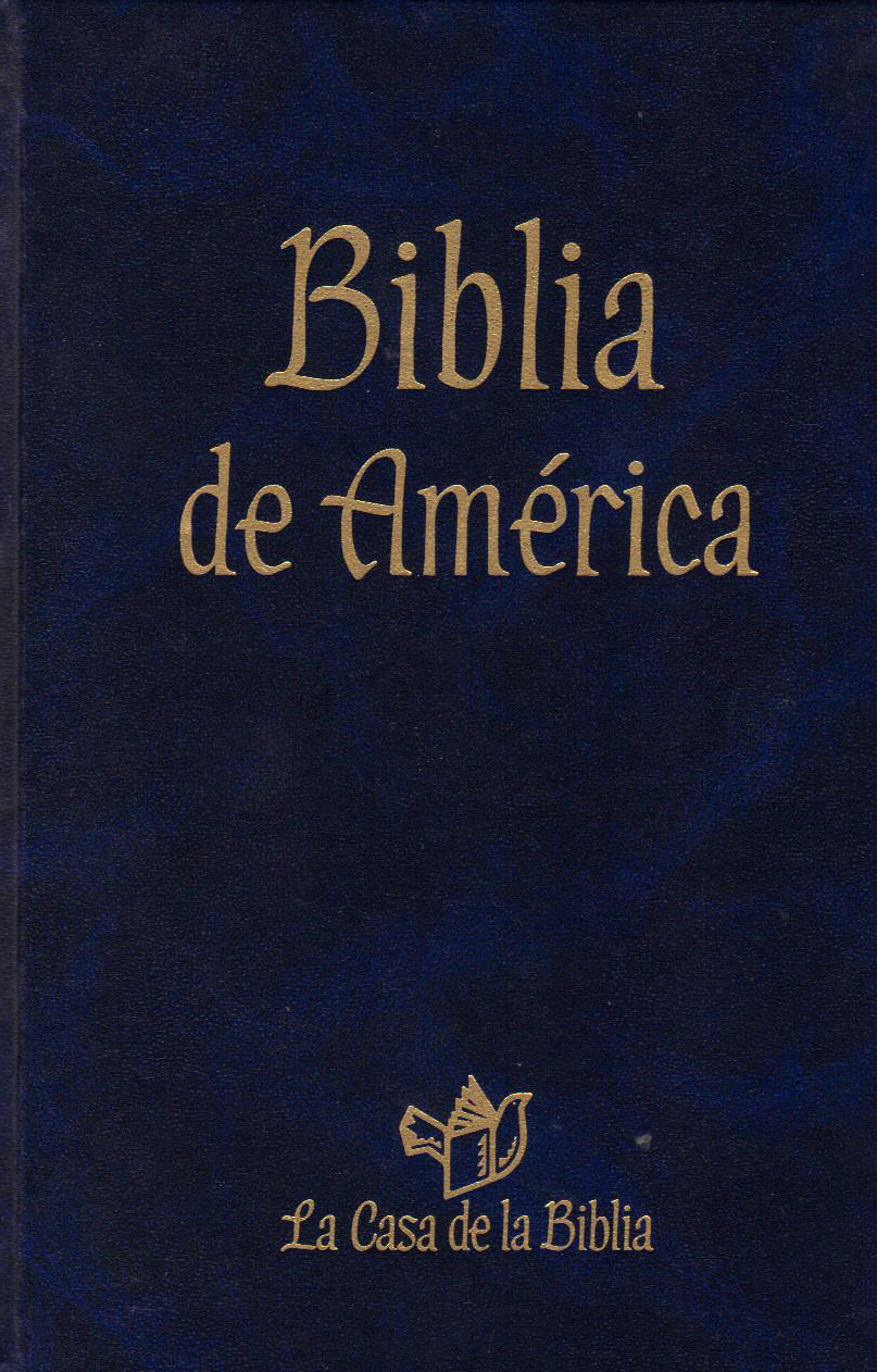 Biblia de America Catholic Book Publishing 60-9780899426112 Blue Cover