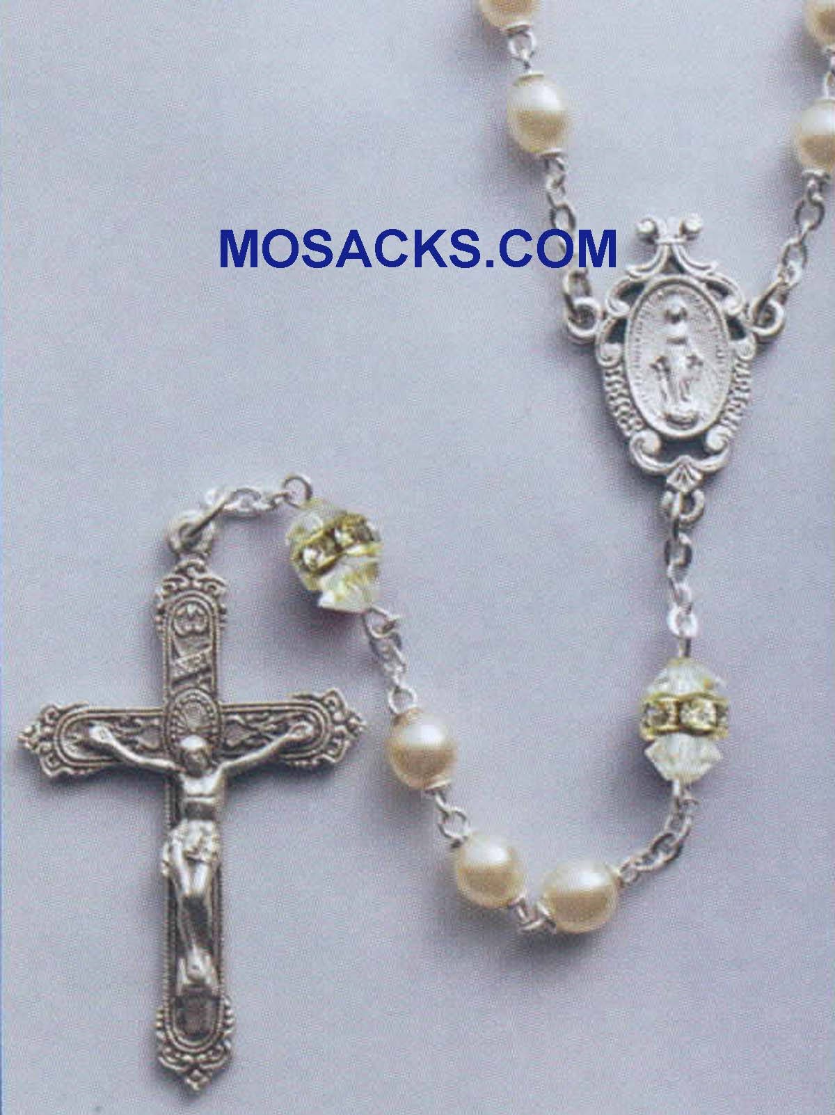 Birthstone Rosary Crystal-41298CR