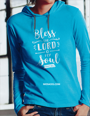 Bless The Lord Hoody Tee-GTL3637S-2X