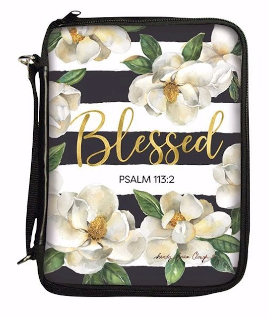 Blessed Striped Bible Cover 796038238538