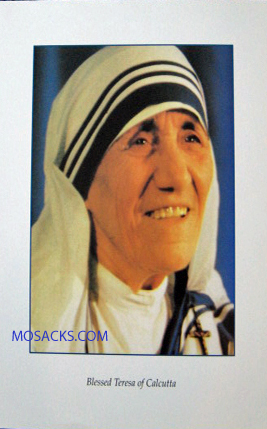 "Blessed Teresa of Calcutta 11"" x 14"" Four-Color Print, #9250"