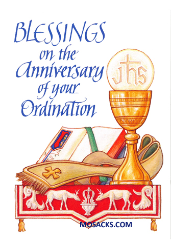 Blessings on the Anniversary of your Ordination 277-CB1497