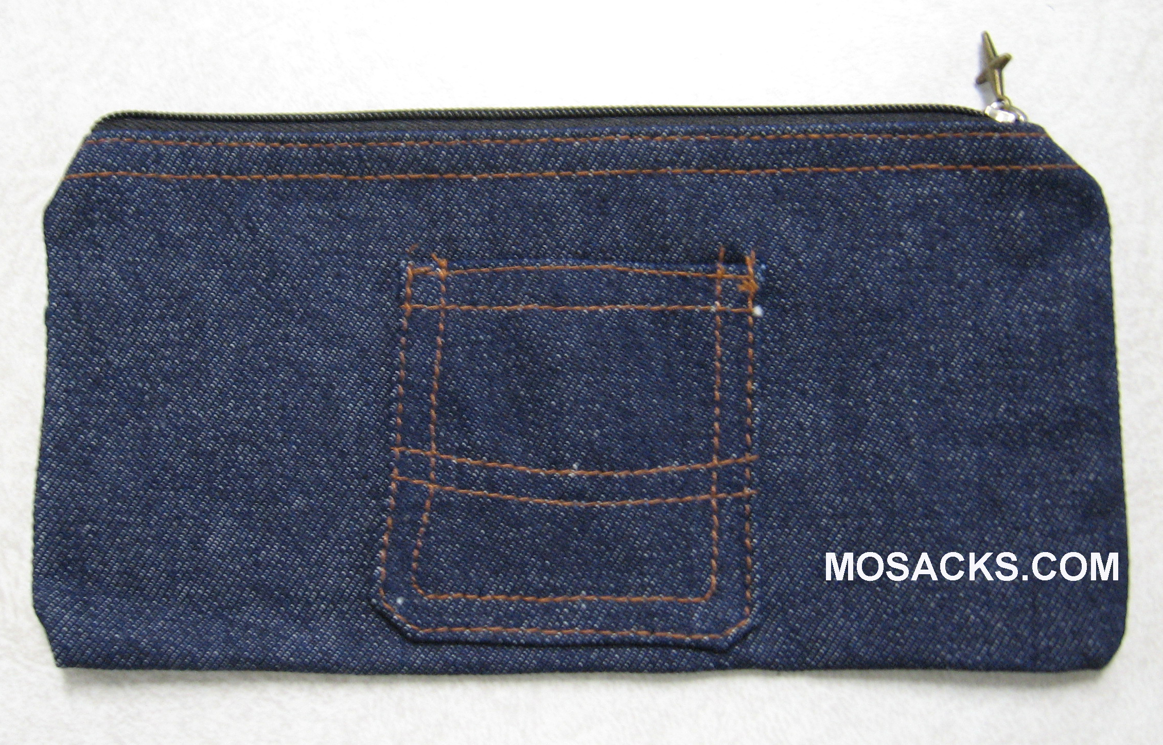 Blue Jean Pencil Pouch 71N545