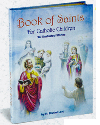 Book Of Saints For Catholic Children 12-2427