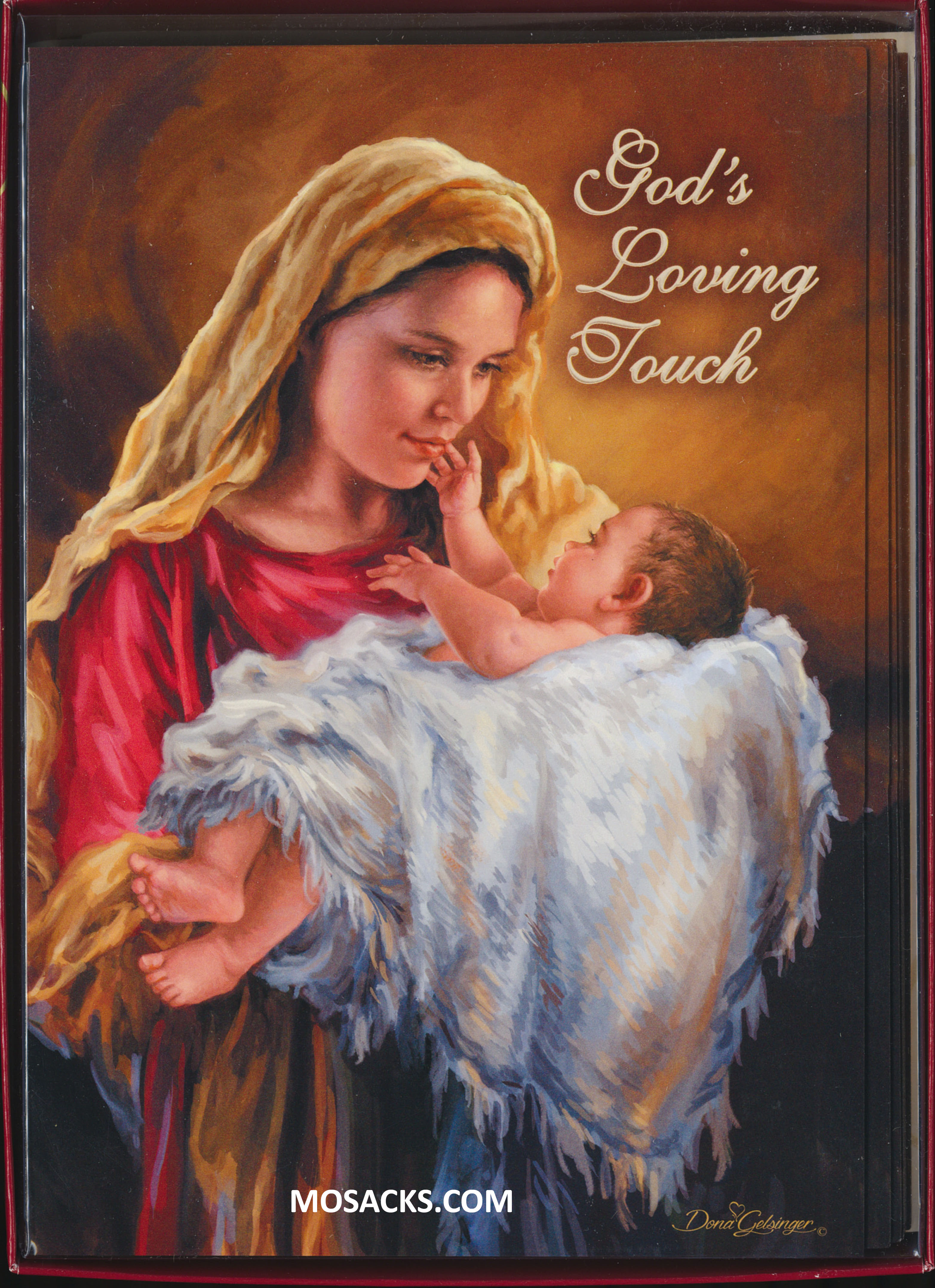 Boxed Christmas Cards God's Loving Touch 10 in a box 63-C74616