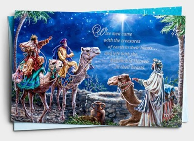 Boxed Christmas Cards Wise Men Came 217-J0441