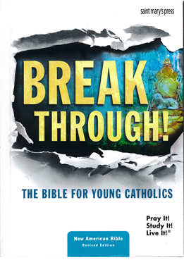 Break Through! The Bible for Young Catholics NABRE Hardcover 9781599828411