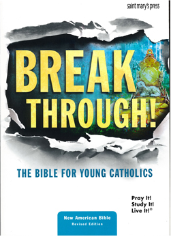 Break Through! The Bible for Young Catholics NABRE Paperback 9781599828459