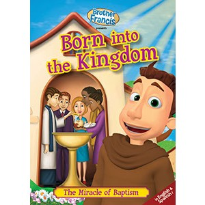DVD-Brother Francis Born Into The Kingdom-BF05DVD