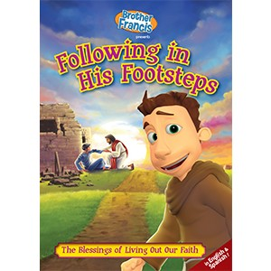 DVD-Brother Francis Following In His Footsteps-BF09DVD