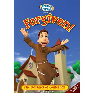 Catholic Children DVD Brother Francis DVD Forgiven-BF04DVD