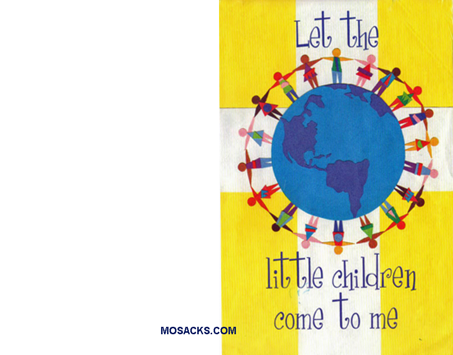 Bulletin Cover Let The Children Come To Me 100 Pack-A575, General Bulletin Cover