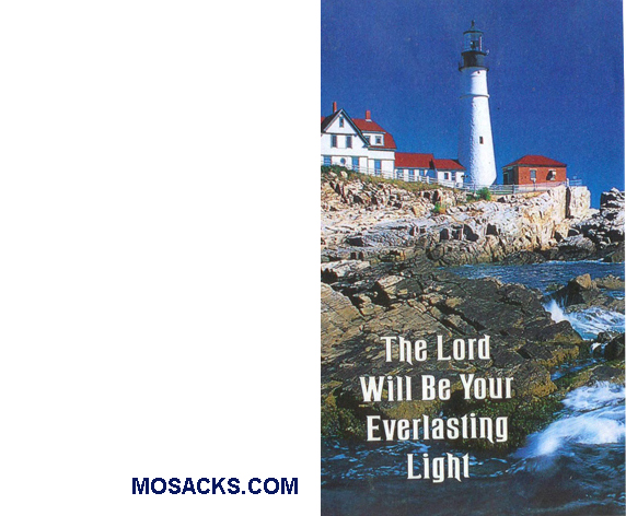 Bulletin Cover Lighthouse 100 Pack-8585, General Bulletin Cover