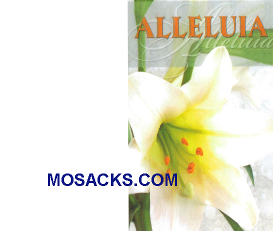 Bulletin Cover Alleluia 100 Pack-A4012