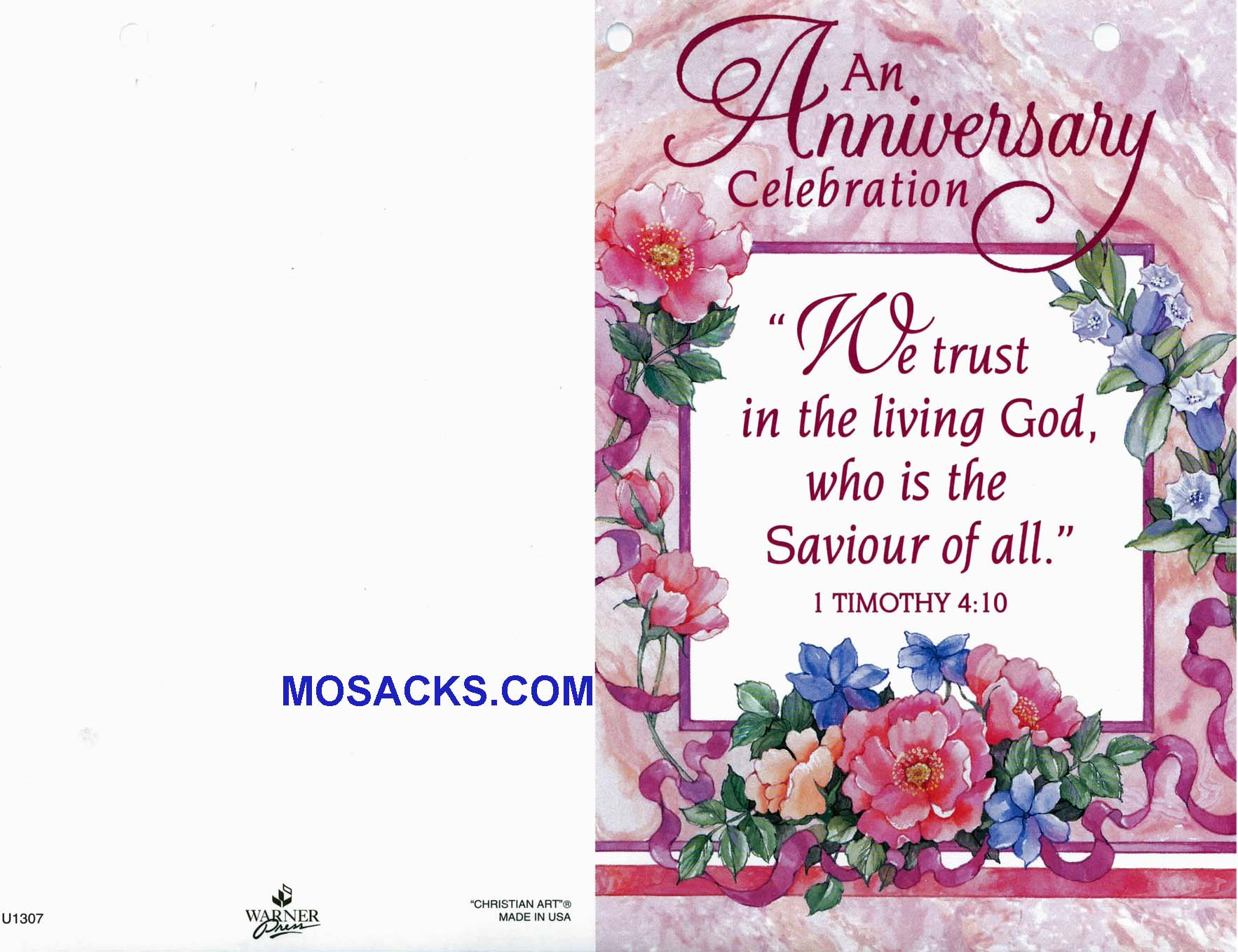 Bulletin Cover Anniversary Celebration 100 Pack-U1307