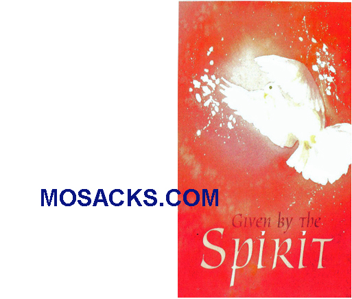 Bulletin Cover Given By The Spirit 100 Pack-A5732