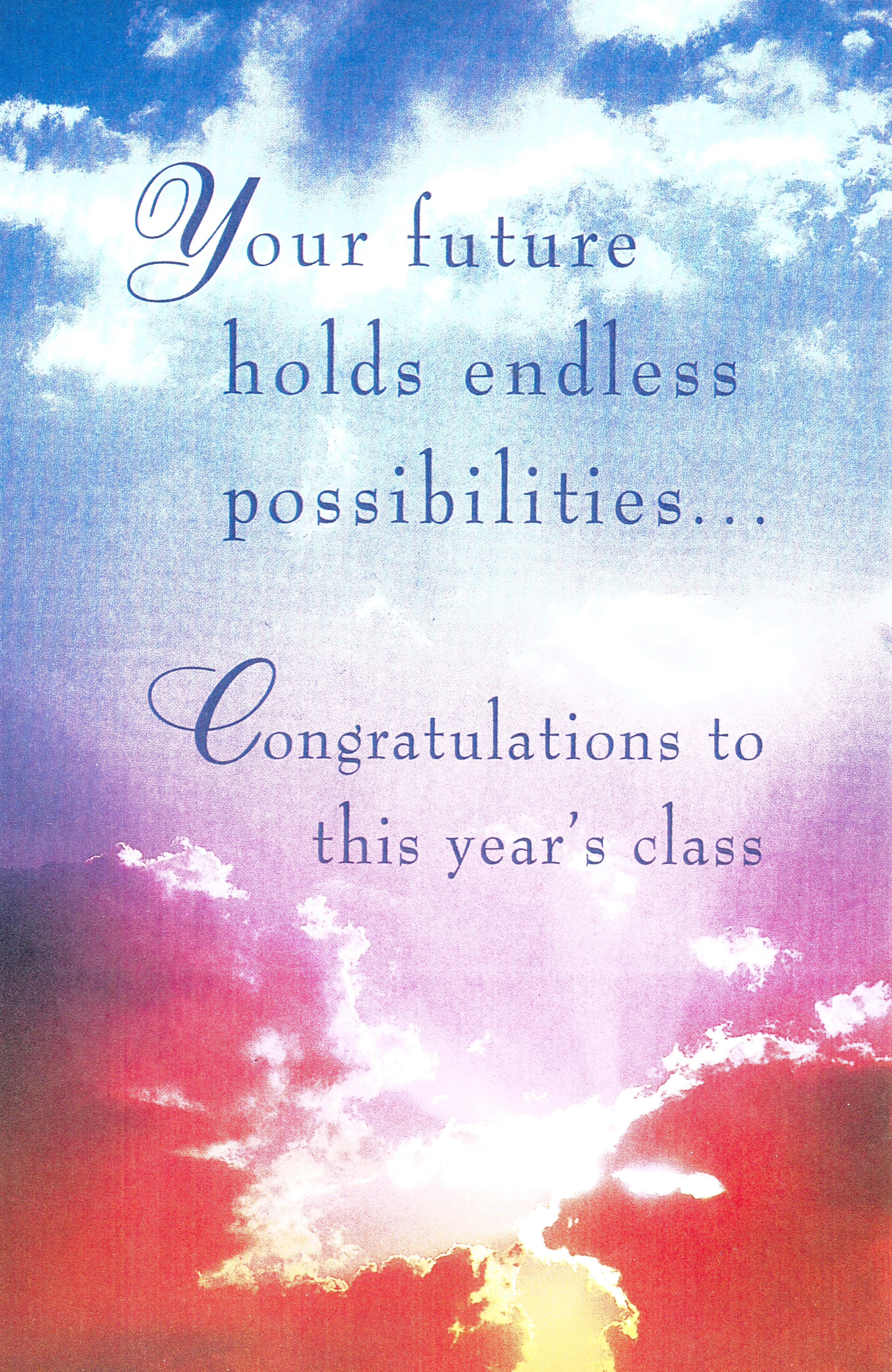 Bulletin Covers Graduation Your Future Holds-8684