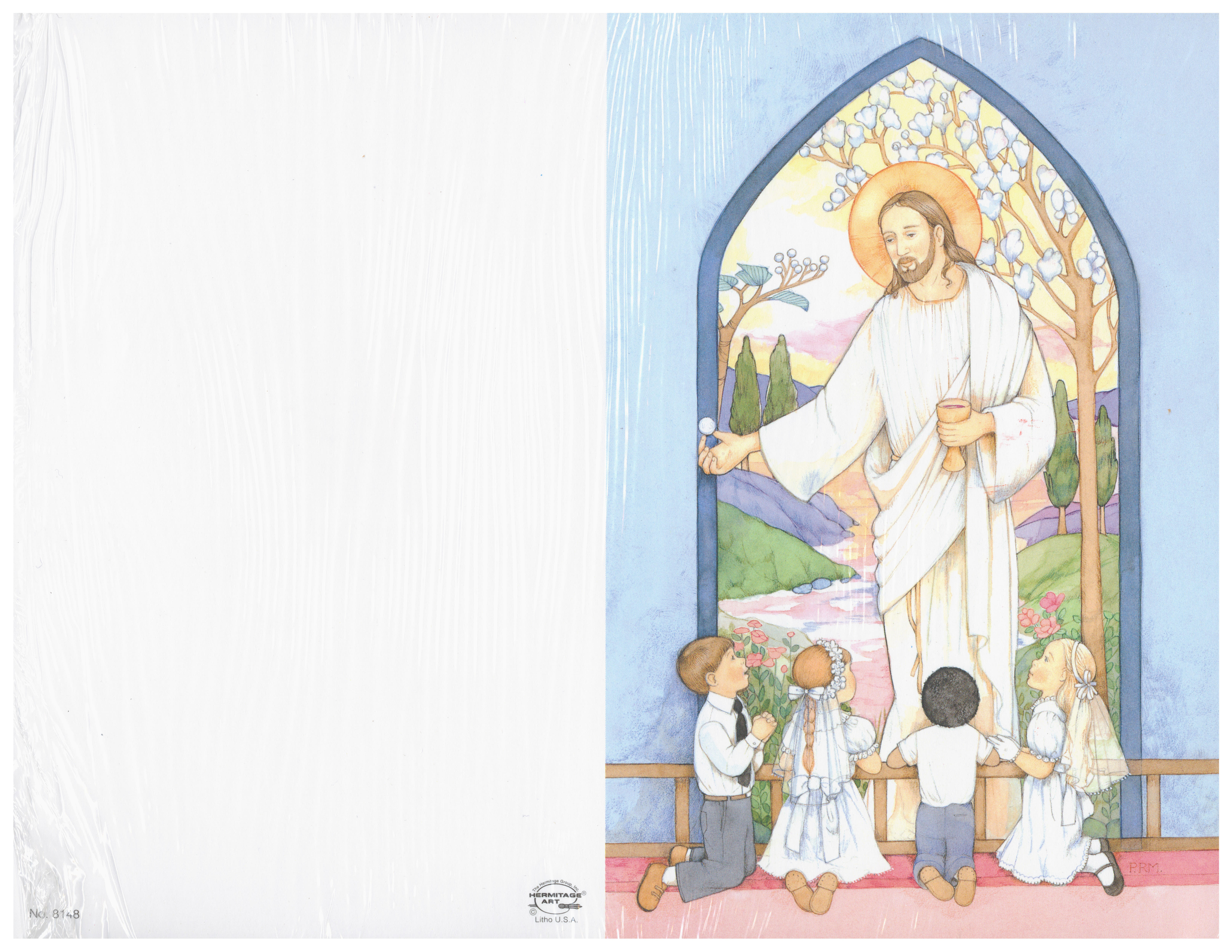 Bulletin Covers Jesus an Children 236-8148