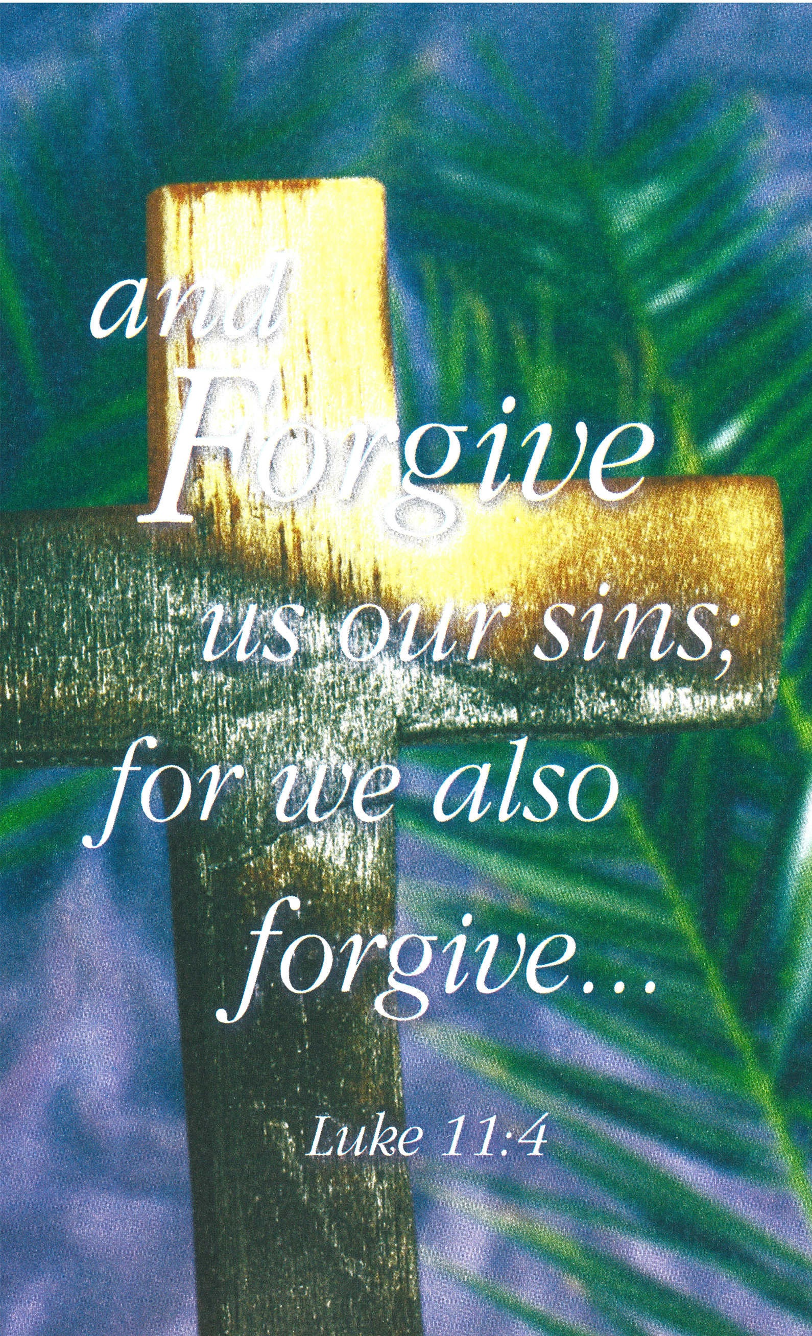 Bulletin Covers Reconciliation Forgive Our Sins-9892