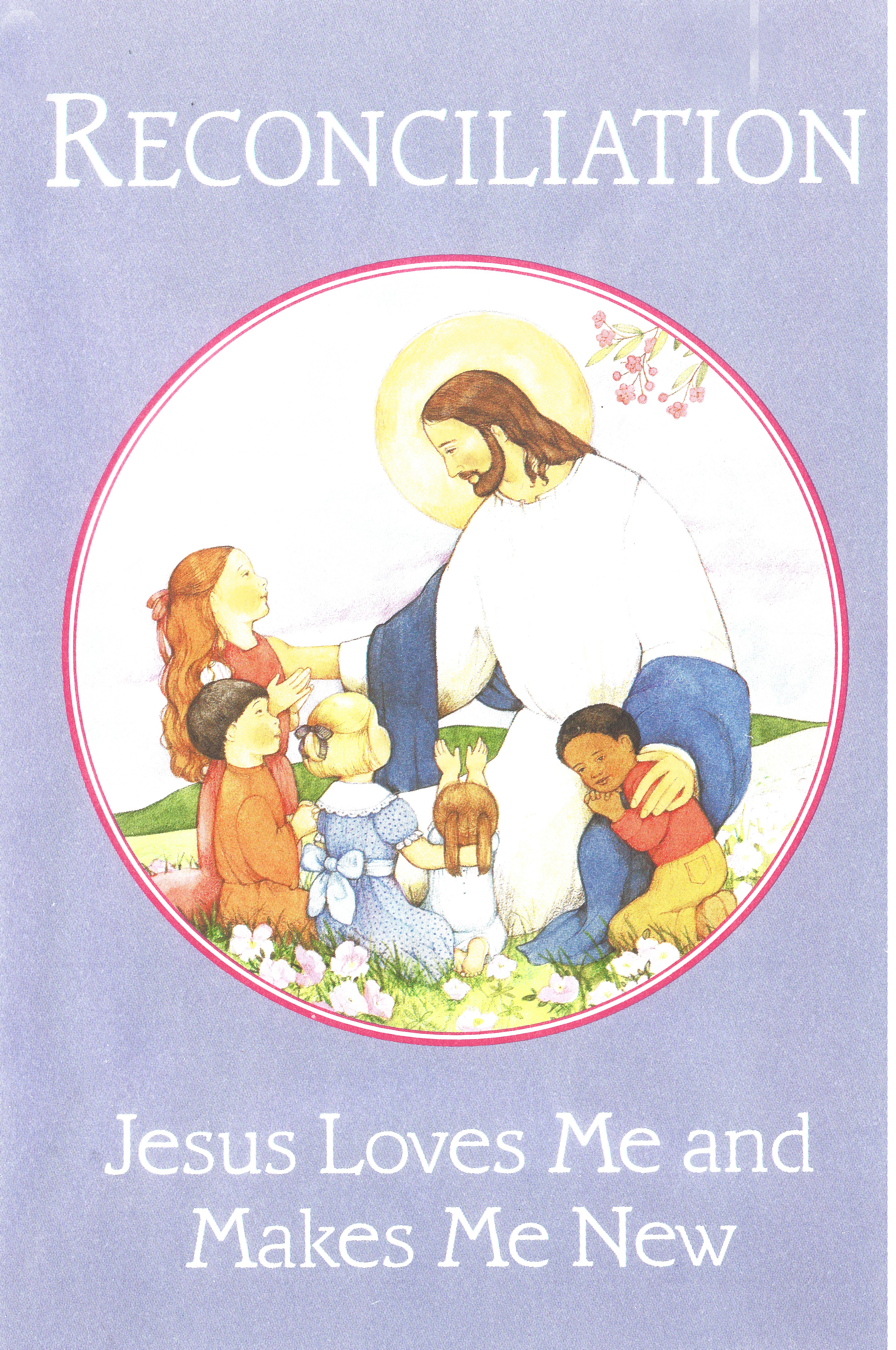 Bulletin Covers Reconciliation Jesus Loves Me-8415