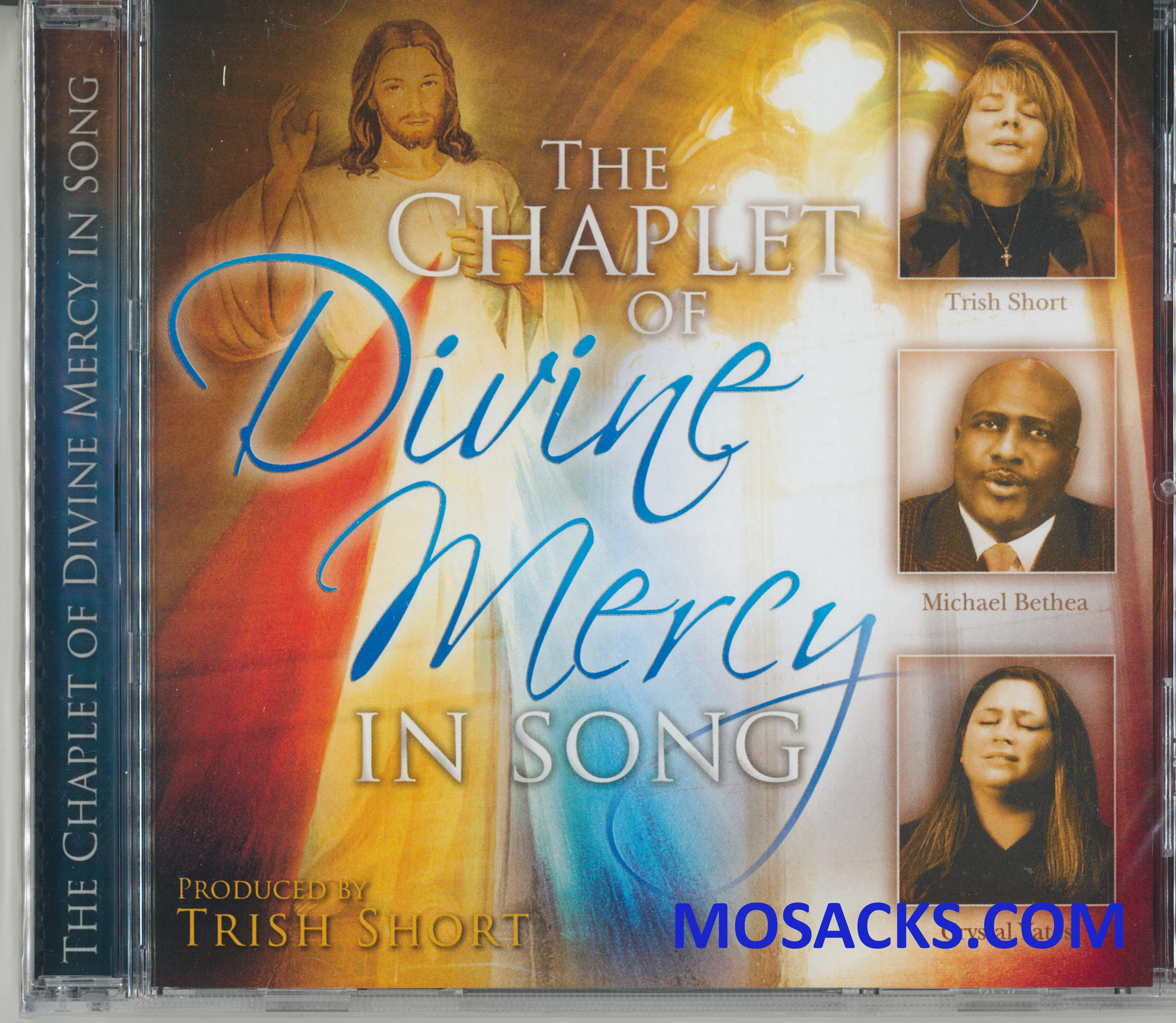 CD Chaplet of Divine Mercy In Song Produced by Trish Short featuring Trish Short, Michael Bethea, Crystal Yates 9781596142404
