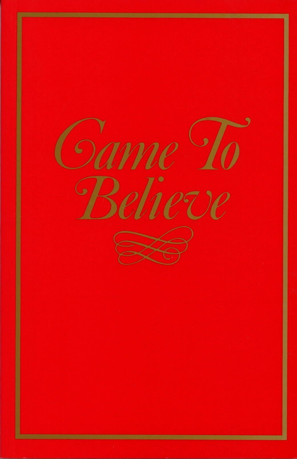 Came To Believe published by AA World Services, Inc.