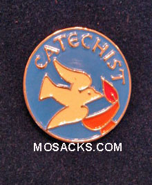 Catechist Enameled-Colored Lapel Pin, #B-17