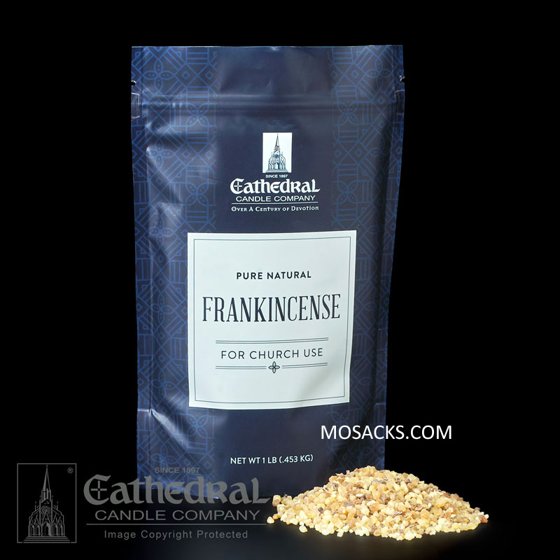 Cathedral Candle Frankincense Incense 1 pound bag of Church Incense -91200101
