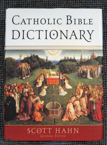 Catholic Bible Dictionary Hardcover #9780385512299