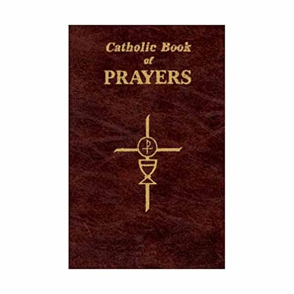 Catholic Book of Prayers in Large Print 910/09 Brown Vinyl