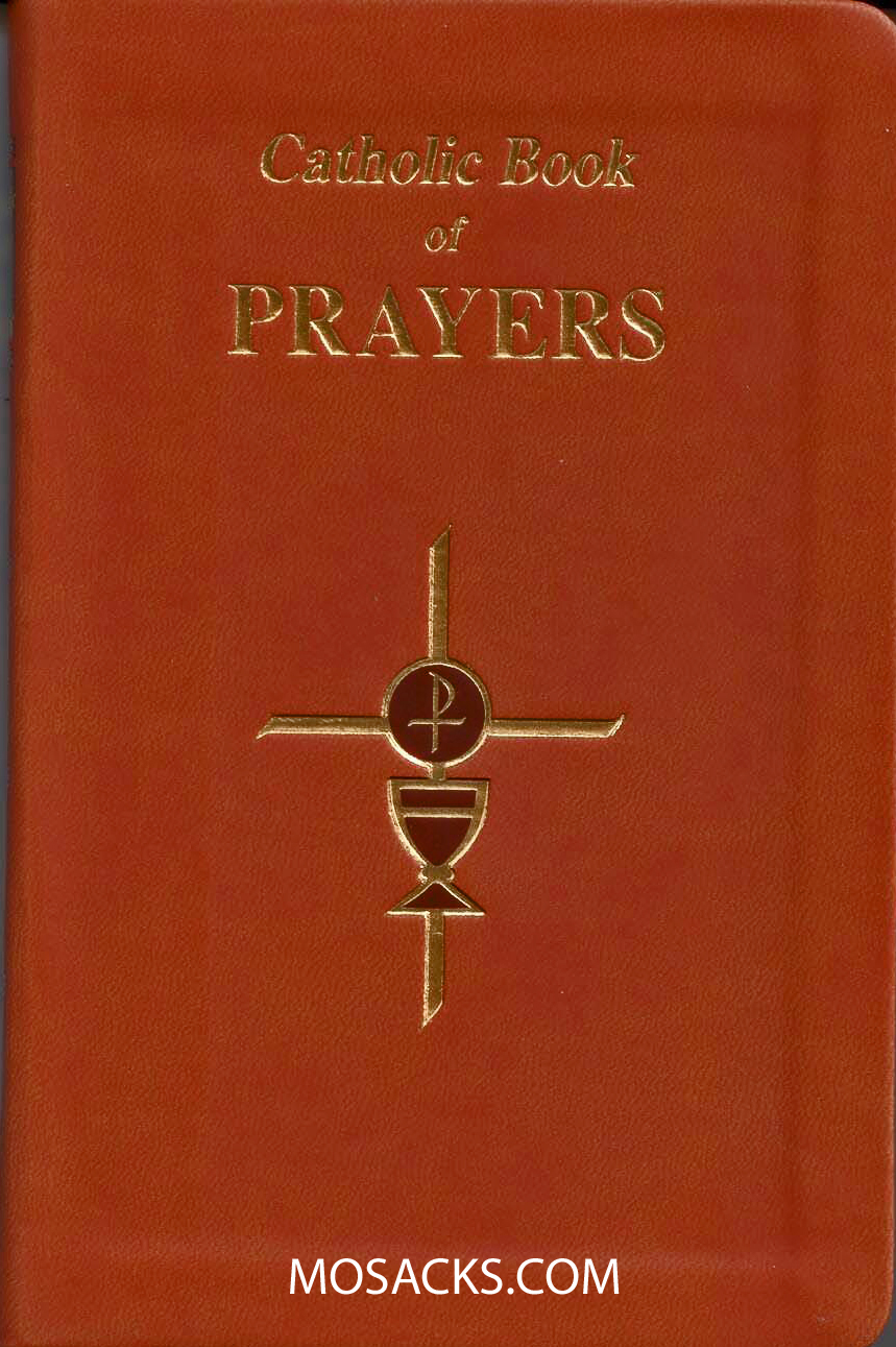 Catholic Book of Prayers Large Print by M Fitzgerald 9780899429236 910/19BN