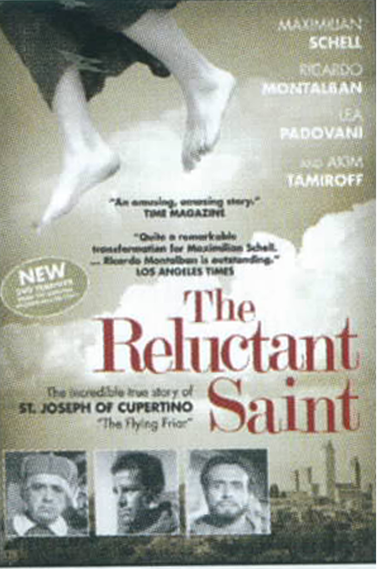 Catholic DVD The Reluctant Saint RS-M St. Joseph of Cupertino the flying saint